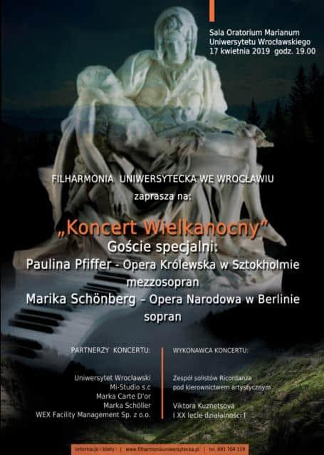 Koncert Wielkanocny Filharmonia Uniwersytecka